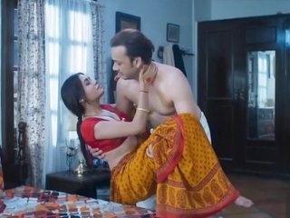 Wife homemade sex very hot red saree full romance fuck mastram web series